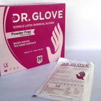 دستکش جراحی بدون پودر DR.GLOVE ارزان و با کیفیت آرمان هلث
