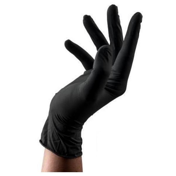دستکش نیتریل(مشکی)